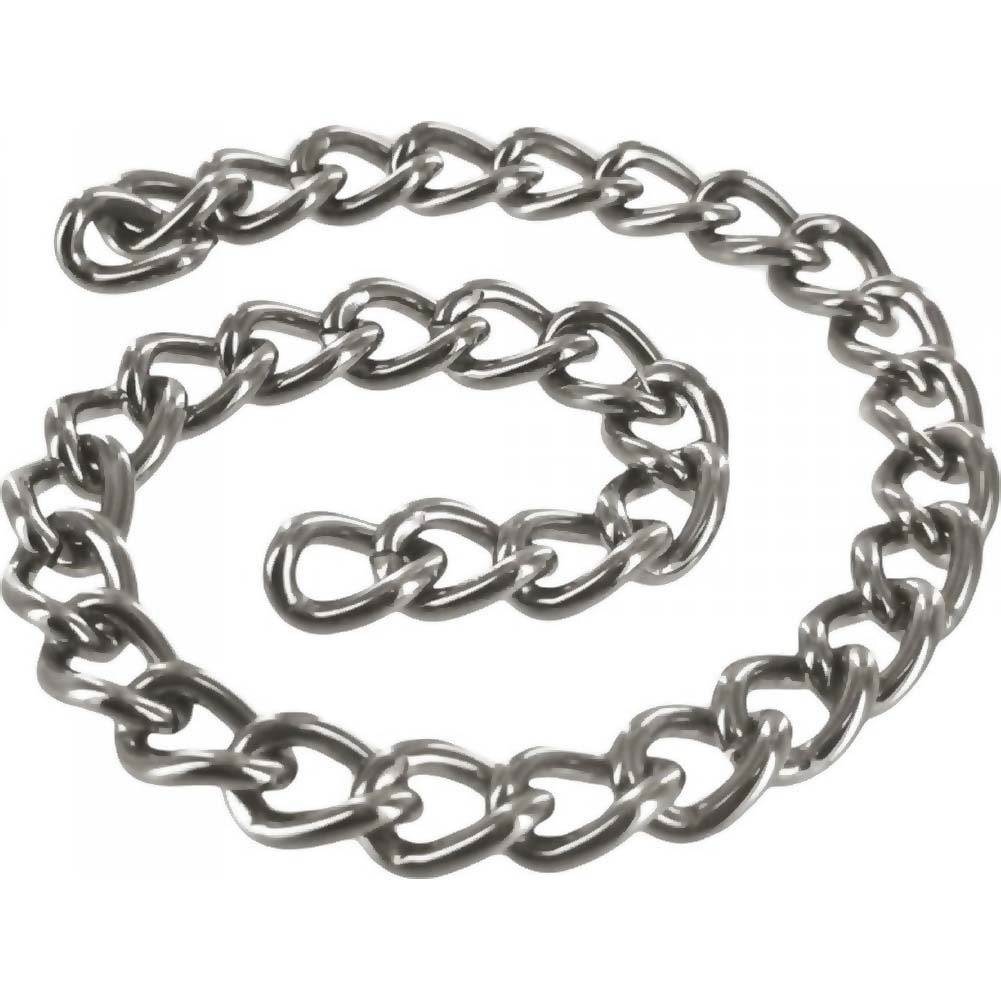 "Masters Linkage 12"" Steel Chain Silver - View #2"