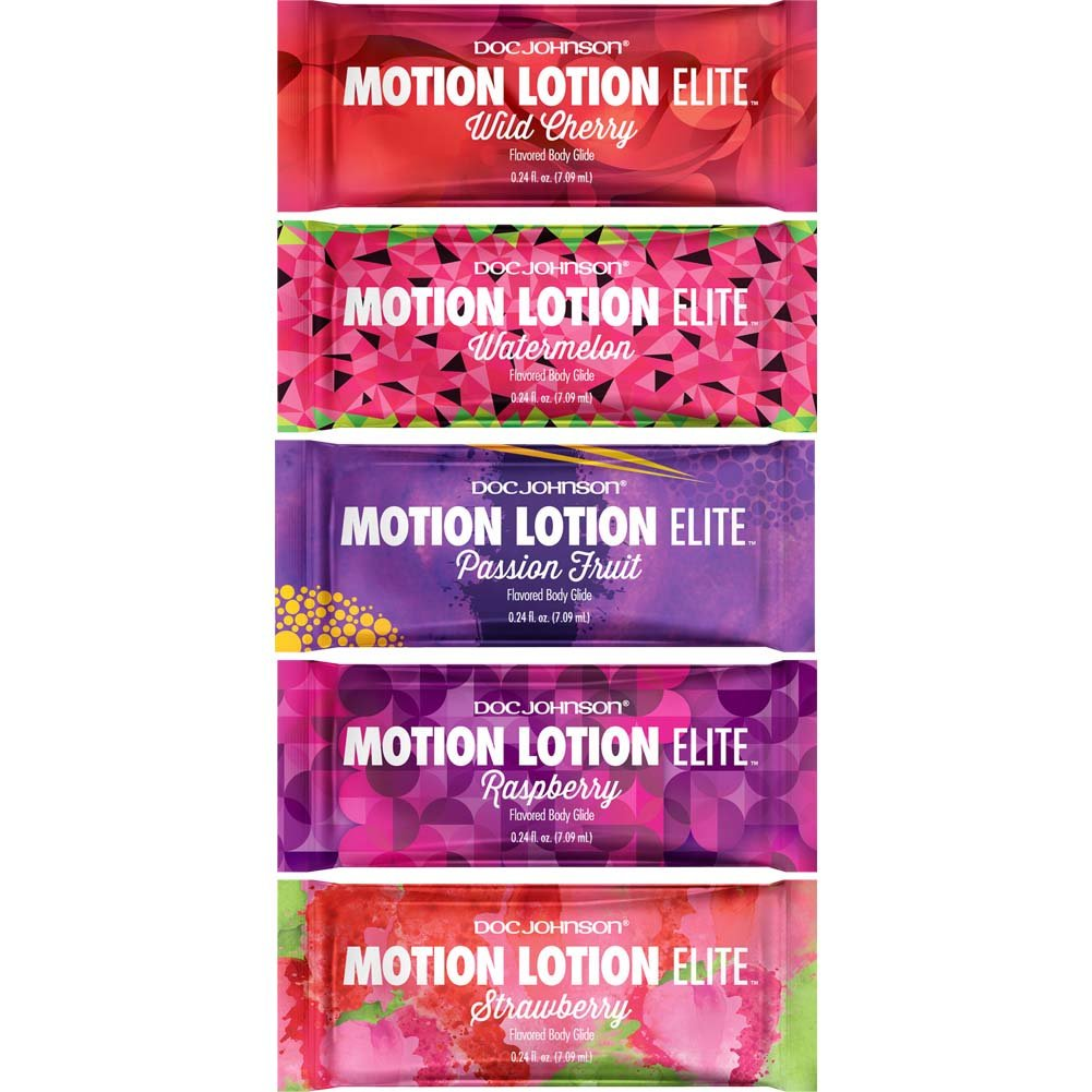 Motion Lotion Elite Fishbowl Display 120 Pieces Assorted Pillow Paks .24oz Each - View #1