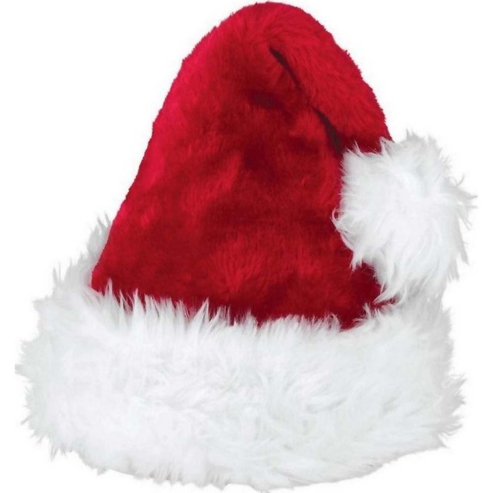 Leg Avenue Traditional Santa Hat Red/White One Size - View #2