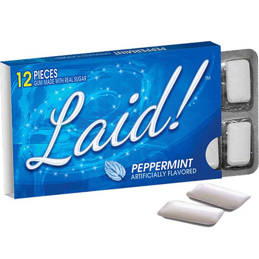 Laid Peppermint Gum 12 Pieces Pack - View #1
