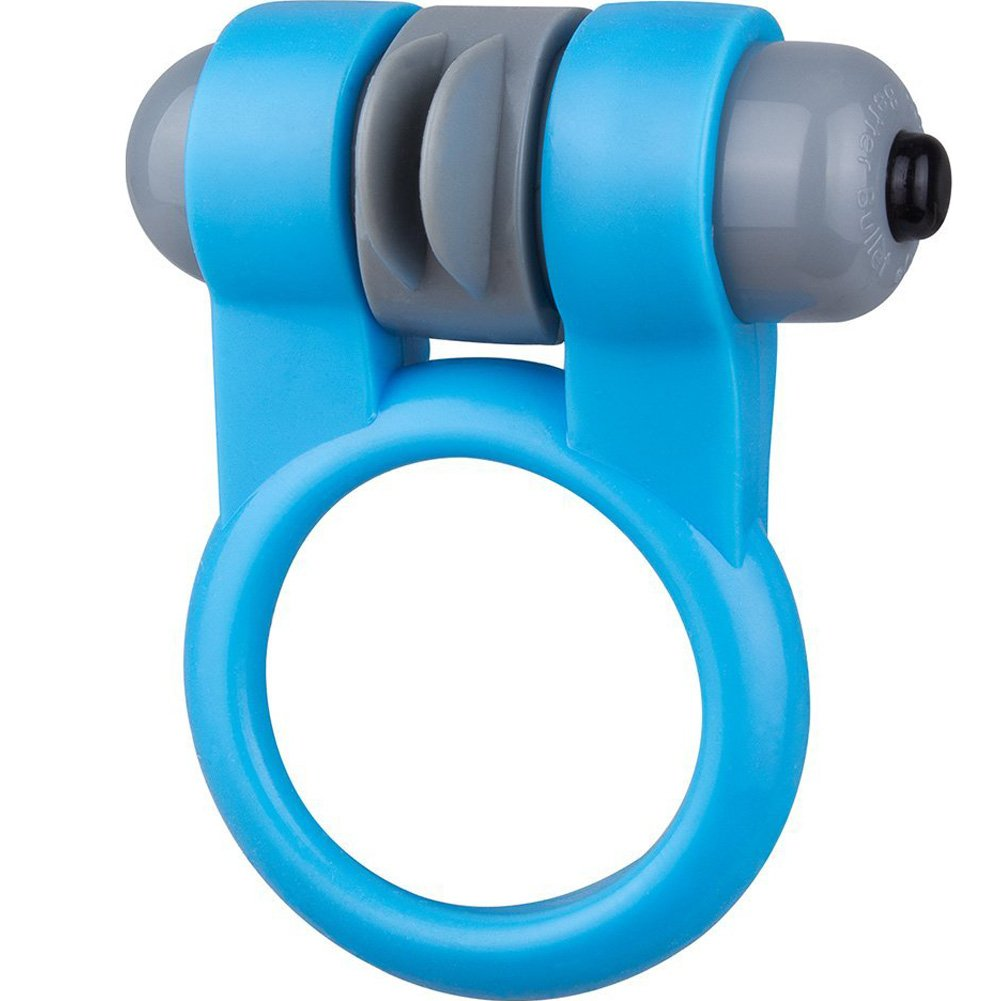 Screaming O Sport Cock Ring One Size Blue - View #2