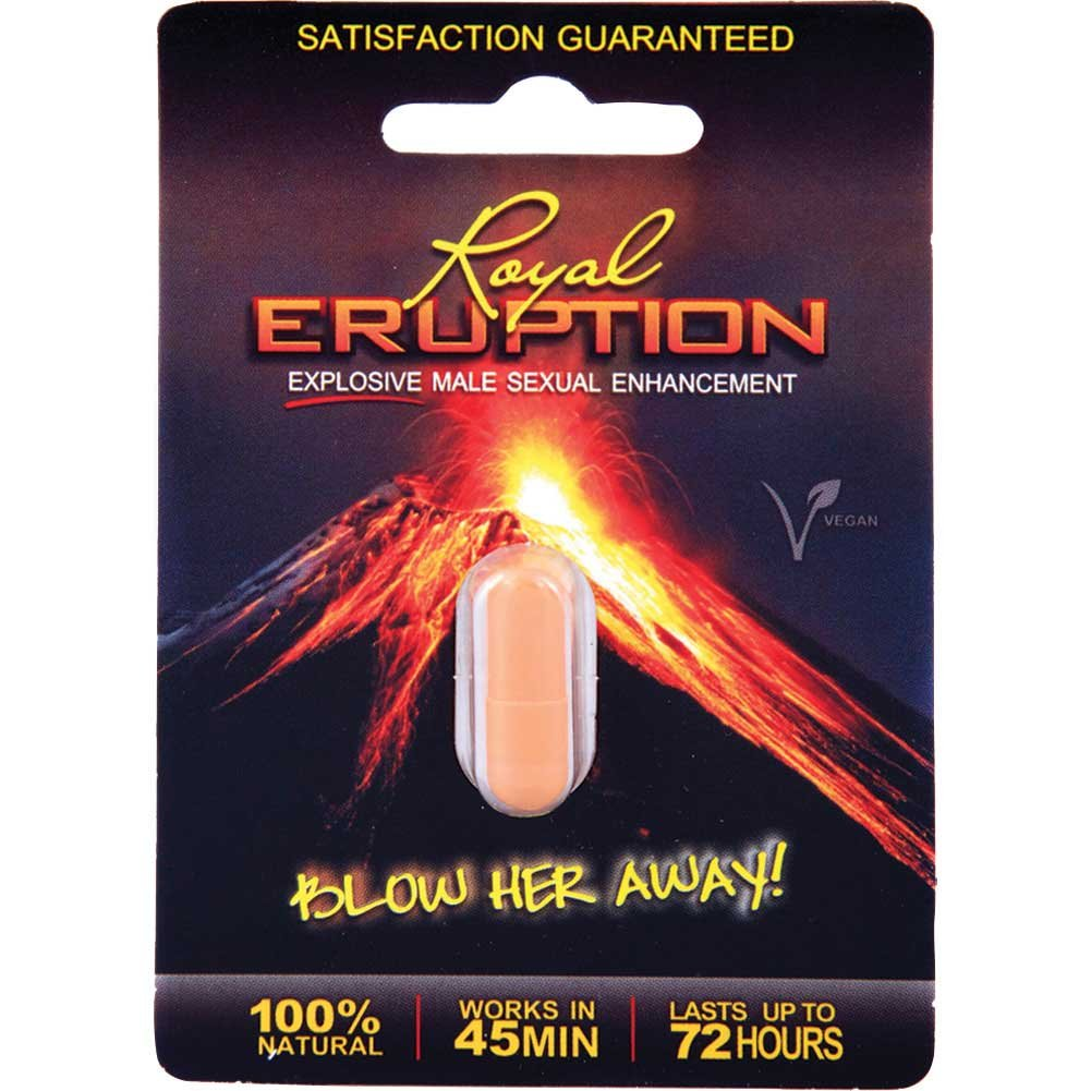 Nasstoys Royal Eruption Male Sexual Enhancement Pill 20 Pills Per Display - View #1