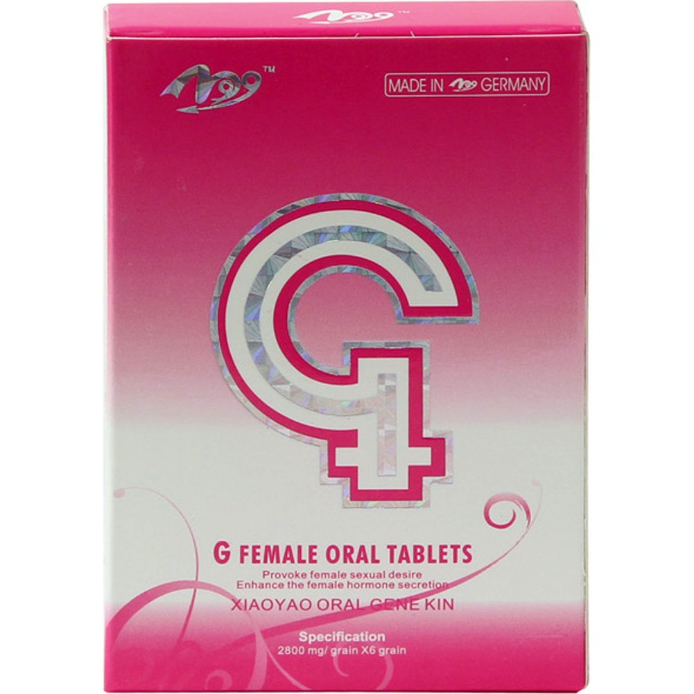 G Female Sexual Enhancement Stimulant Oral Tablets 6 Capsules - View #1