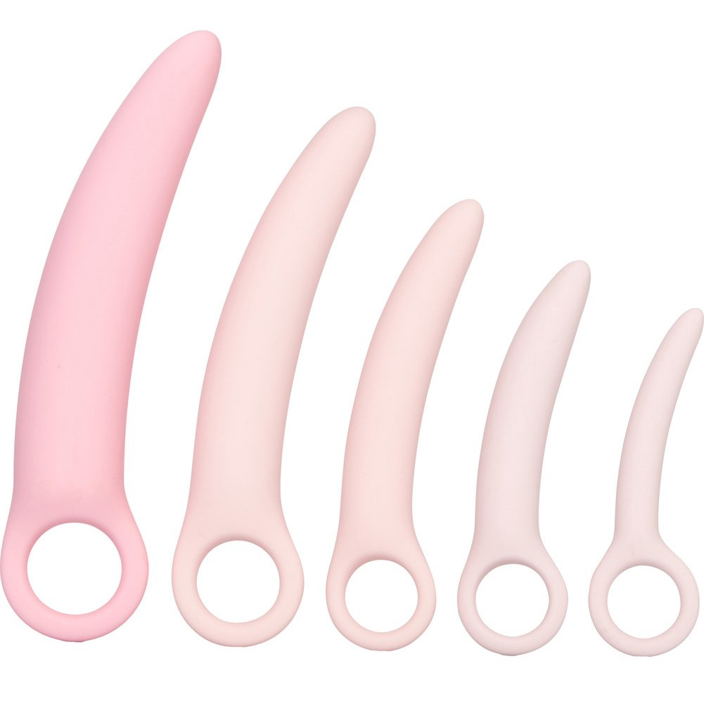 CalExotics Inspire Silicone Dilator 5 Piece Kit Pink - View #2