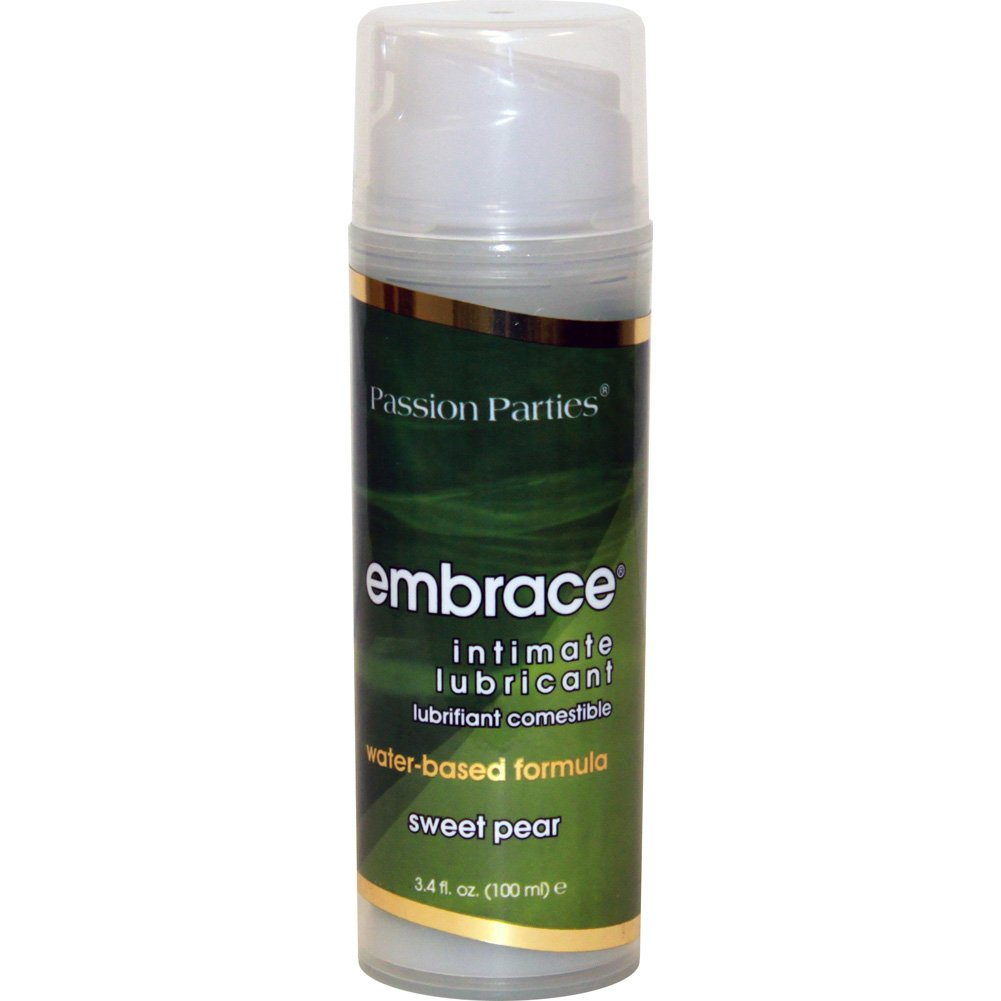 Passion Parties Embrace Intimate Lubricant 3.4 Fl.Oz 100 mL Sweet Pear - View #2