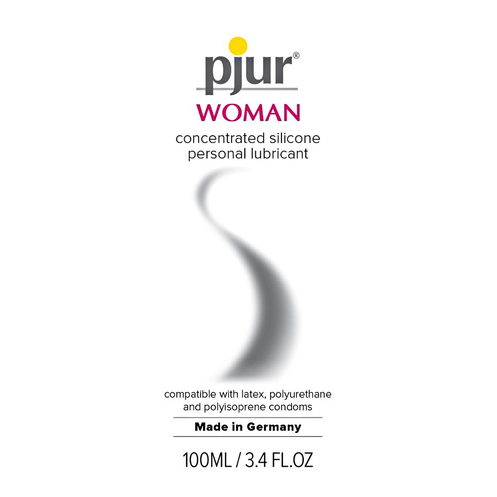 Two Bottles of Pjur Woman Bodyglide Silicone Intimate Lubricant 3.4 Fl.Oz 100 mL Each - View #2