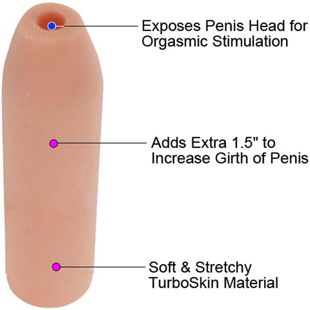 """Doctor Loves Deemun Penis Girth Enhancer 1.5"""" Extra - View #1"""